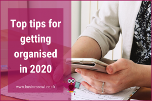 Top tips for getting organised in 2020