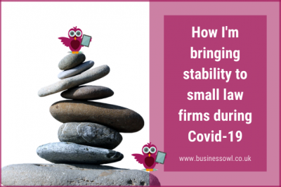 How I'm bringing stability to law firms during Covid-19