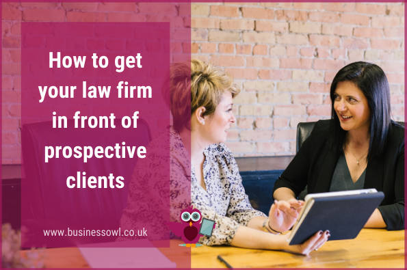 How to get your law firm in front of prospective clients - WP featured image