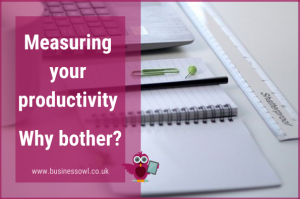 Measuring productivity - why bother
