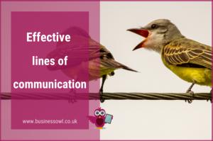 Effective lines of communication - WP image